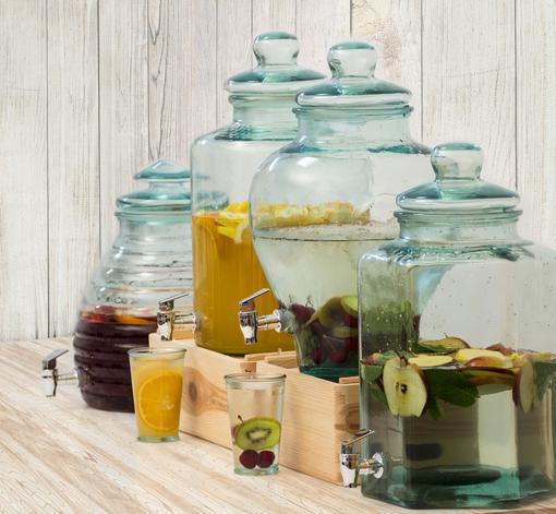 Authentic drinken jars